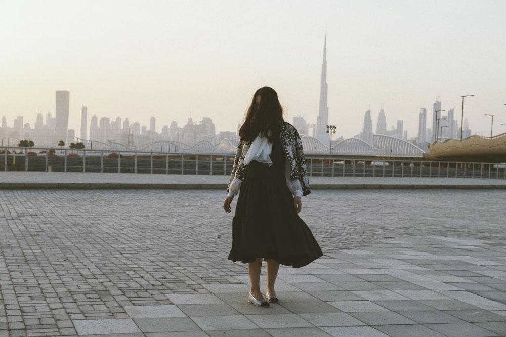 Samantha De Reviziis Arab Fashion Week