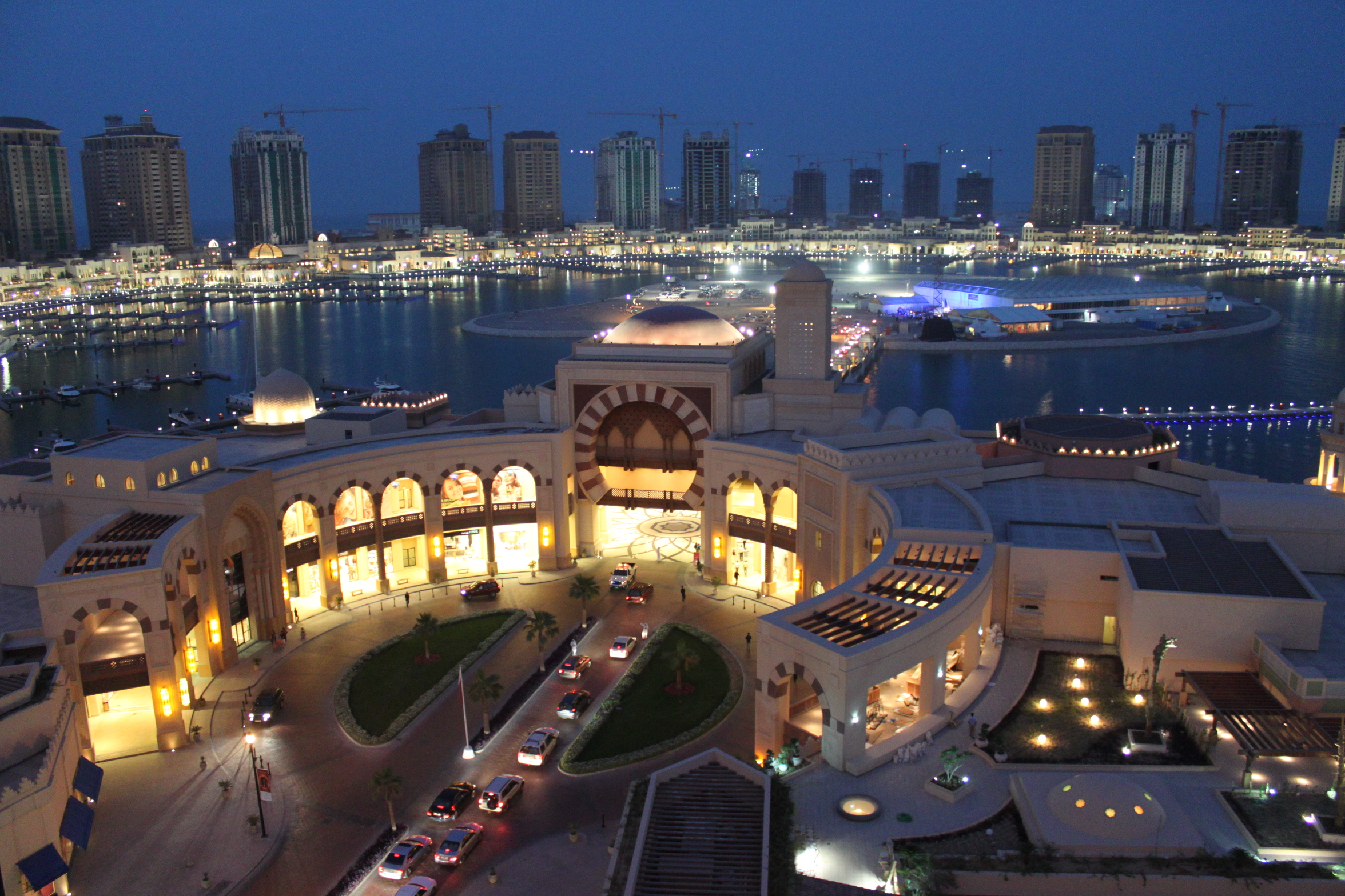 doha the pearl of qatar notte
