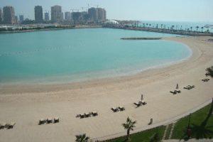 beach grand hyatt doha
