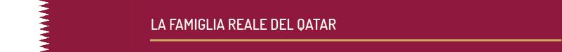 la famiglia reale qatar