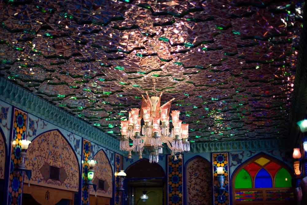 inside Parisa restaurant  doha qatar