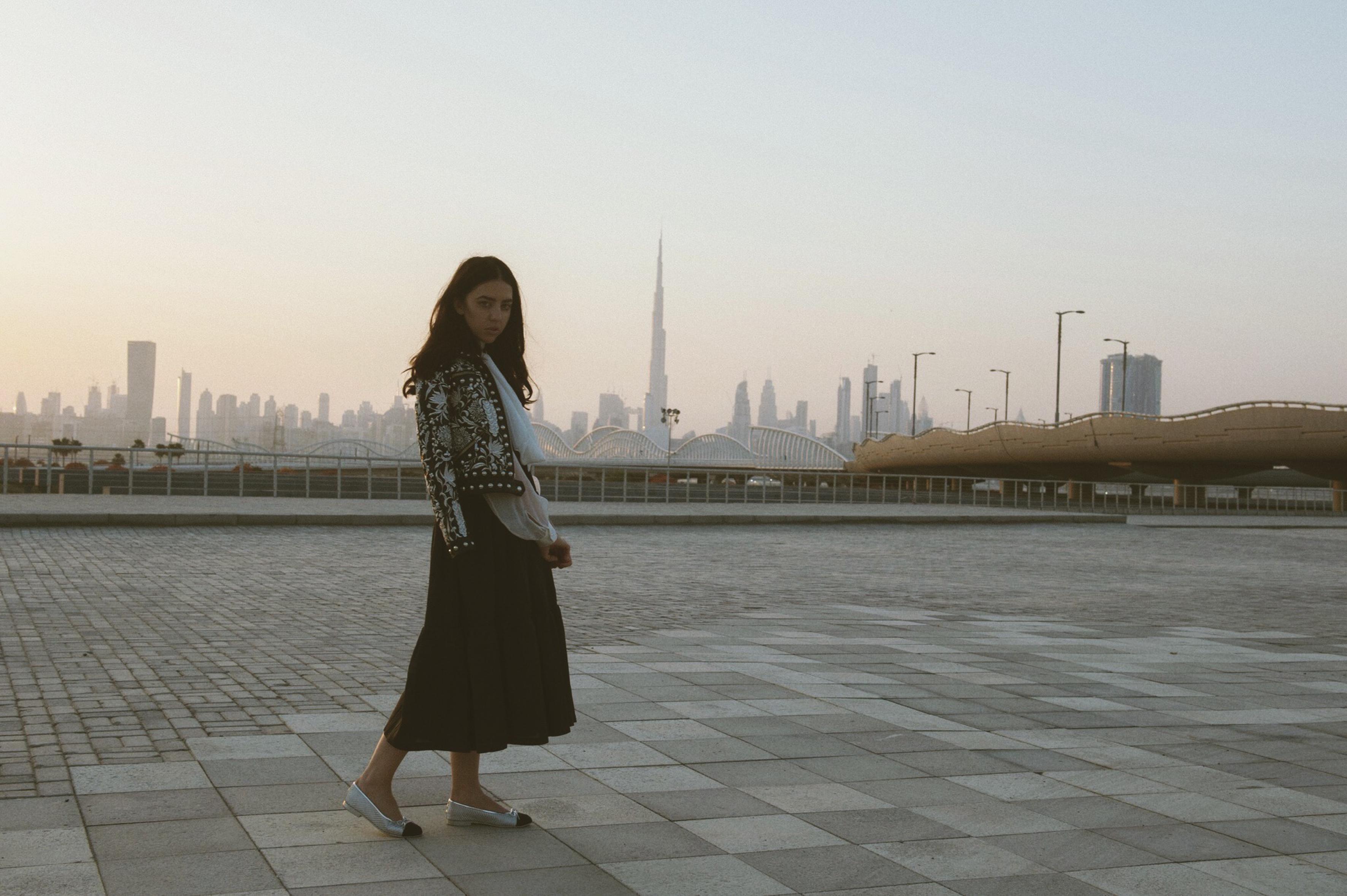 Samantha De Reviziis Dubai Fashion Week