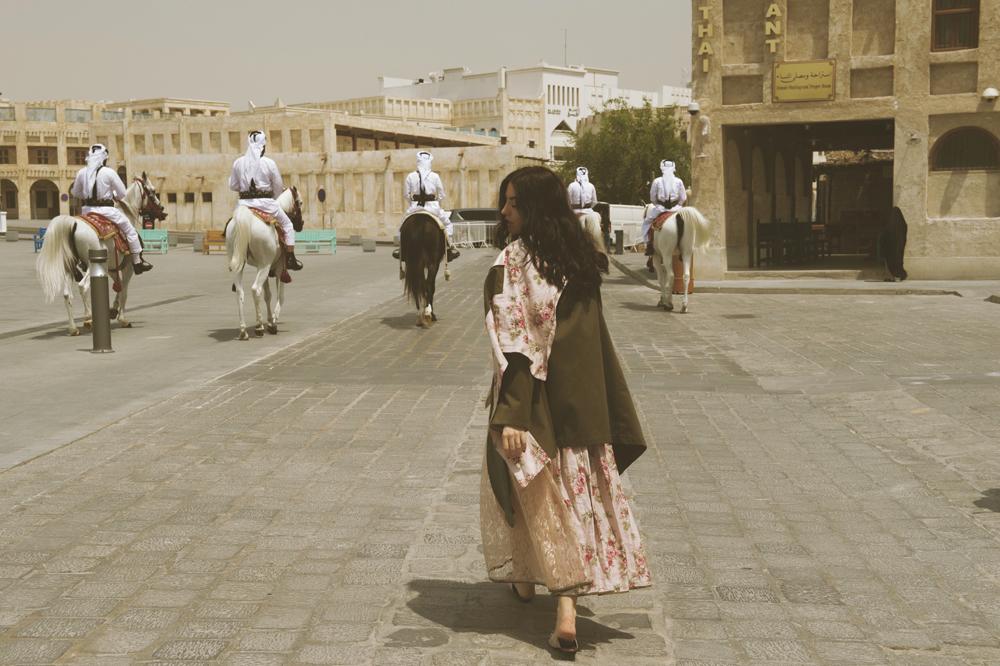 editoriale souq waqif doha grazia arabia