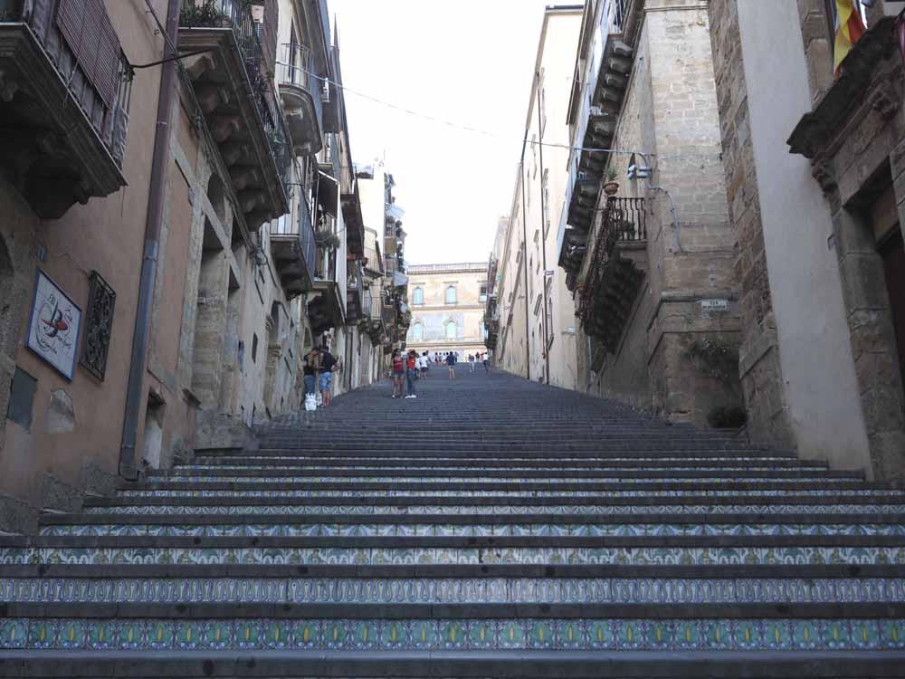 la scalinata di caltagirone