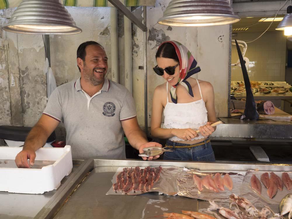 mercato pesce ortigia