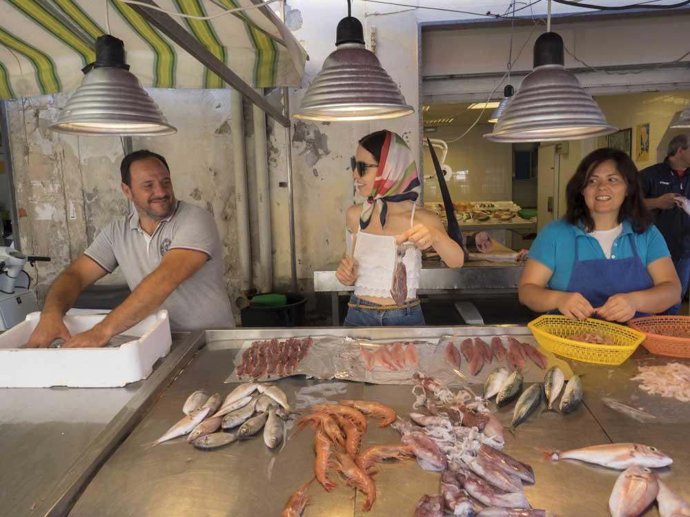 fish market ortigia